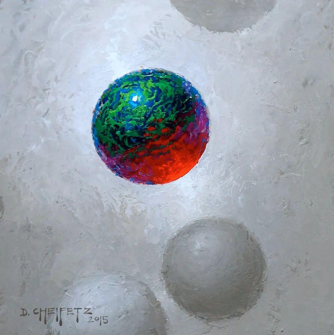 富有表现力的笔触和光感,大卫·切菲兹作品二插图119