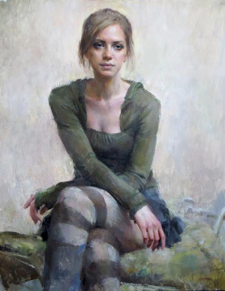 她笔下的女人,韵味十足,美美美!插图33