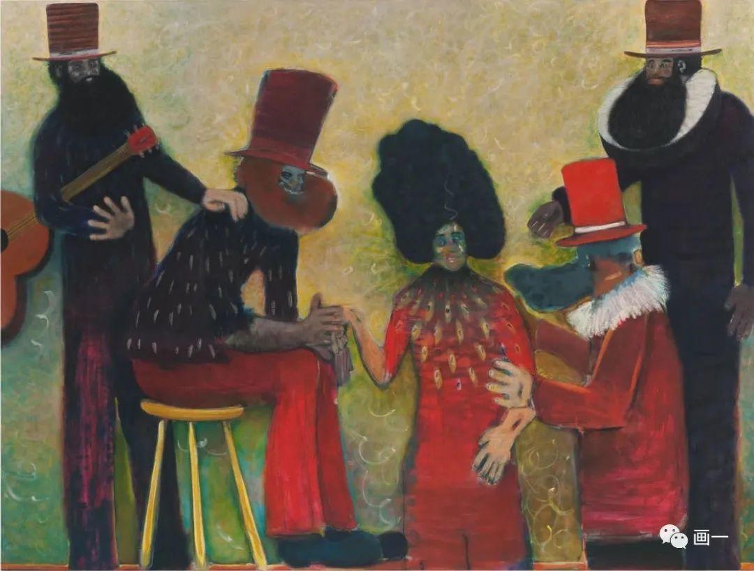 英国当代画家 | 瑞安·莫斯利作品欣赏插图1