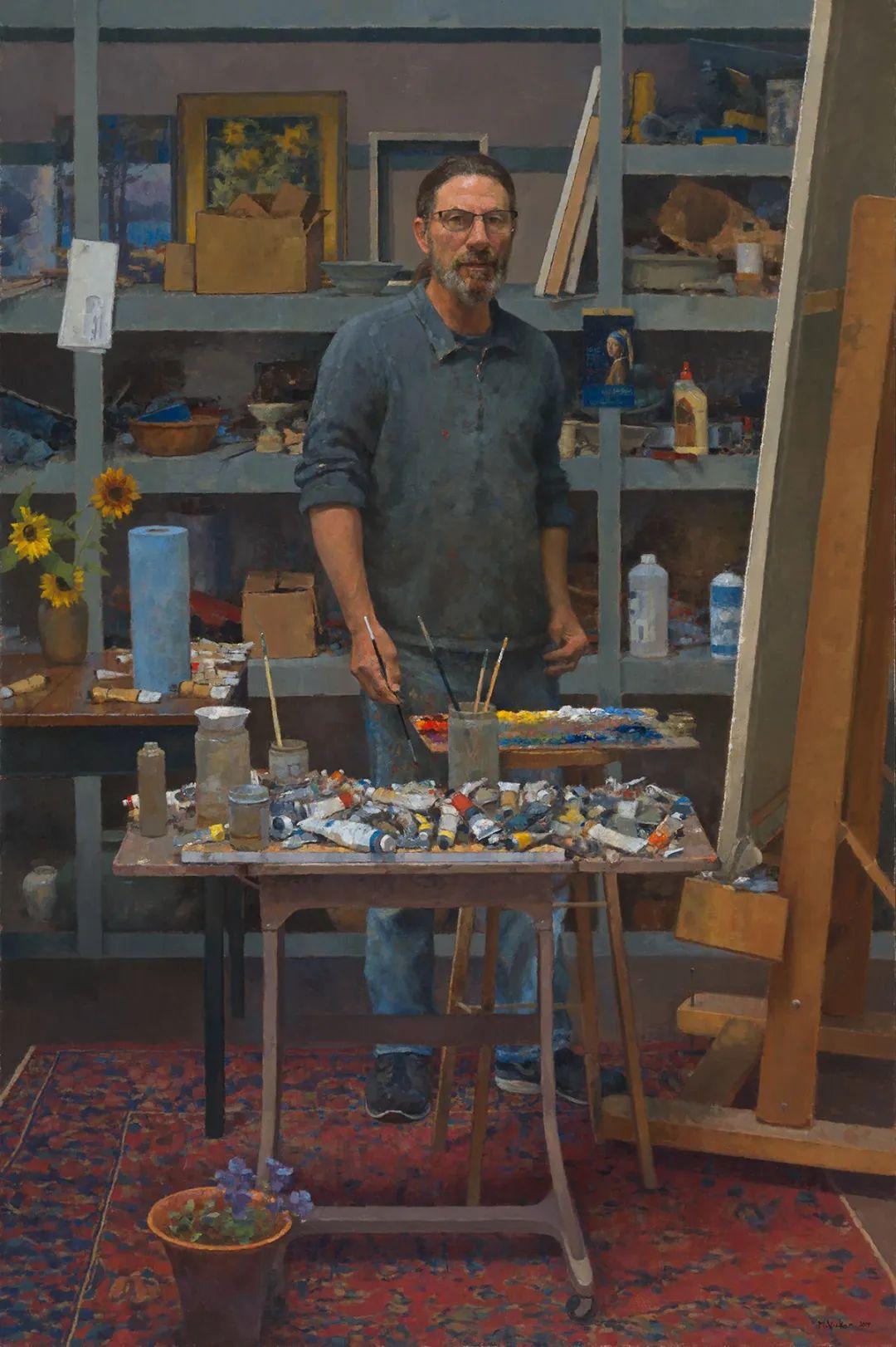 他身上只有5000美元,就大胆开始了全职画家之路!插图93