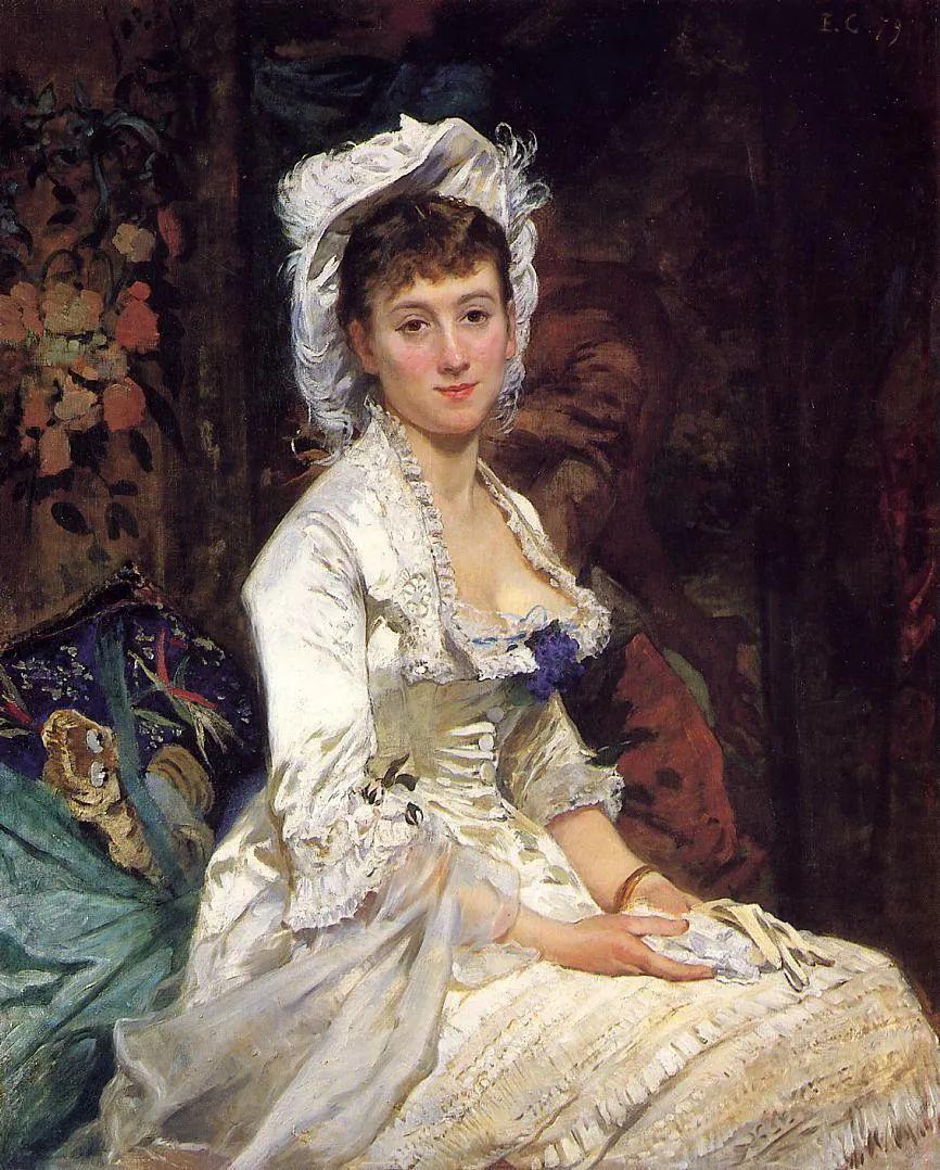 伊娃·冈萨雷斯,19世纪法国印象派女画家插图1
