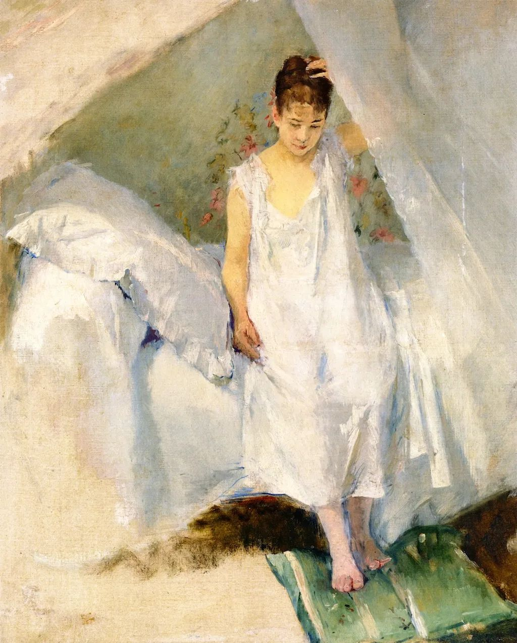 伊娃·冈萨雷斯,19世纪法国印象派女画家插图3