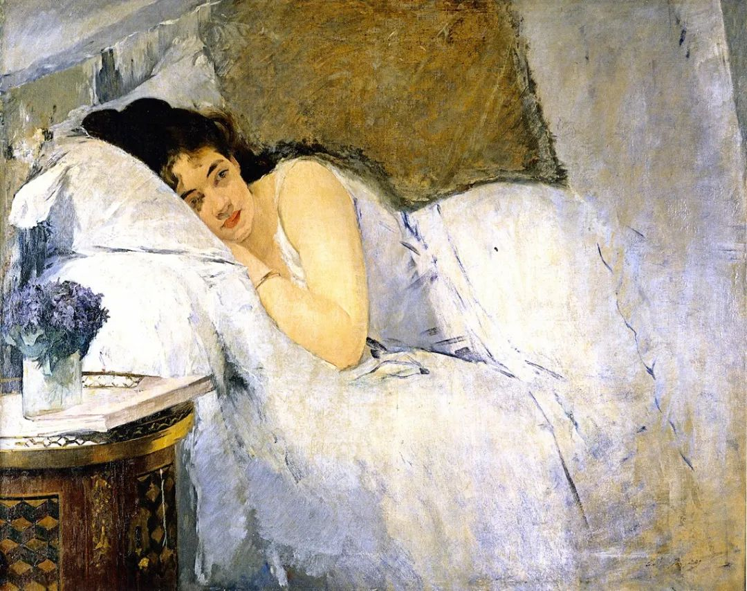 伊娃·冈萨雷斯,19世纪法国印象派女画家插图5