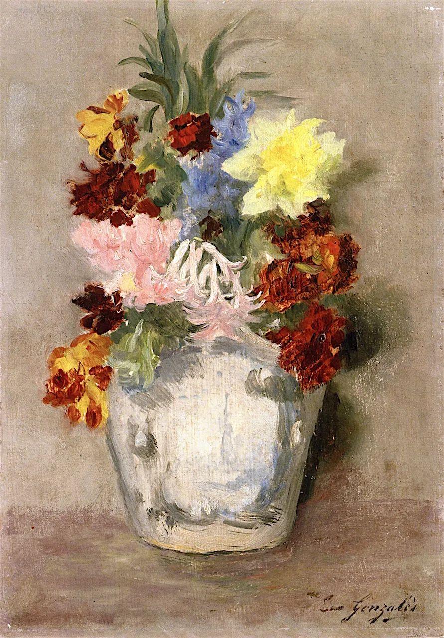 伊娃·冈萨雷斯,19世纪法国印象派女画家插图11