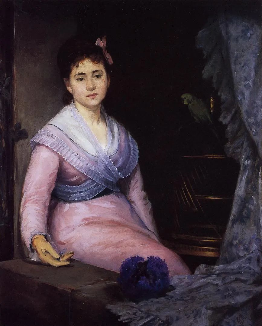 伊娃·冈萨雷斯,19世纪法国印象派女画家插图13