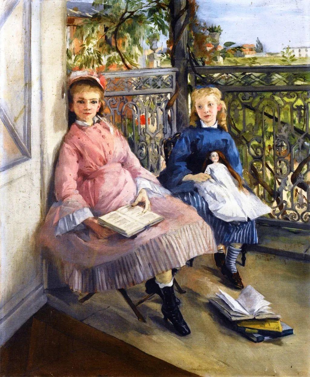 伊娃·冈萨雷斯,19世纪法国印象派女画家插图17