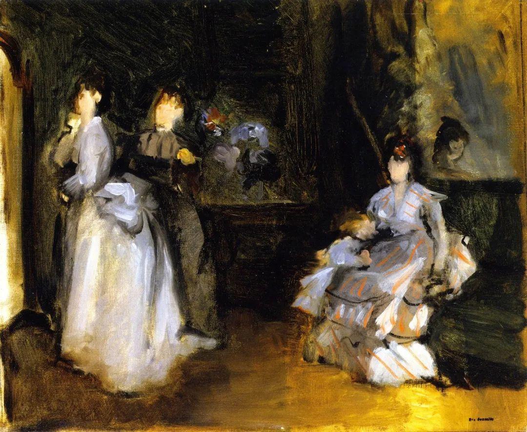 伊娃·冈萨雷斯,19世纪法国印象派女画家插图19