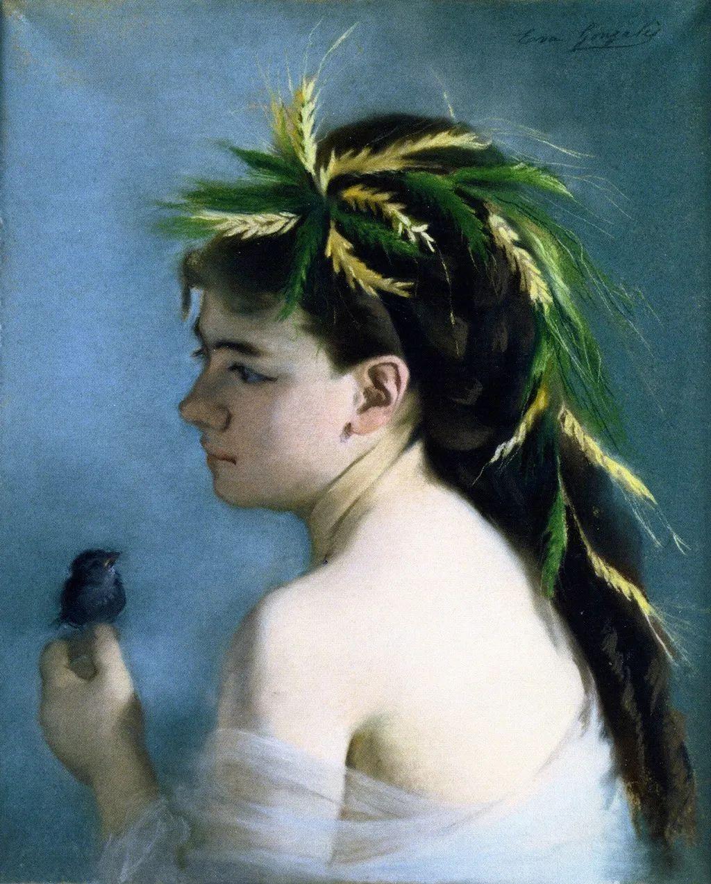 伊娃·冈萨雷斯,19世纪法国印象派女画家插图21