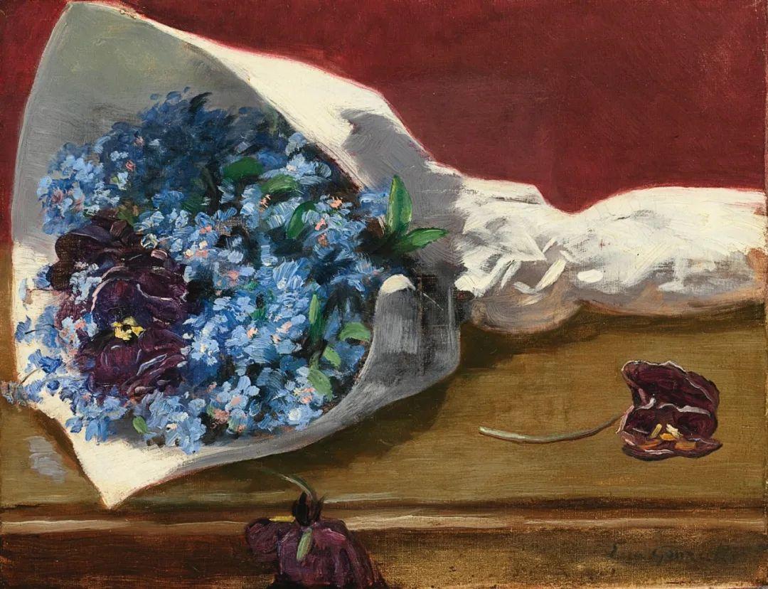 伊娃·冈萨雷斯,19世纪法国印象派女画家插图23