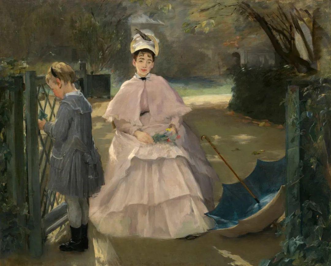 伊娃·冈萨雷斯,19世纪法国印象派女画家插图31