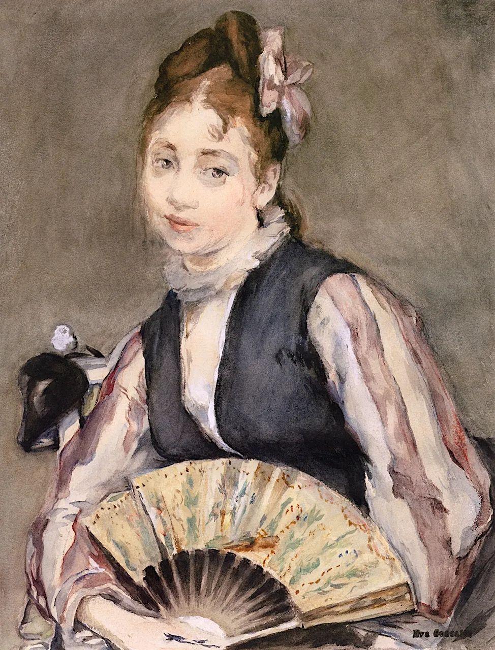 伊娃·冈萨雷斯,19世纪法国印象派女画家插图35
