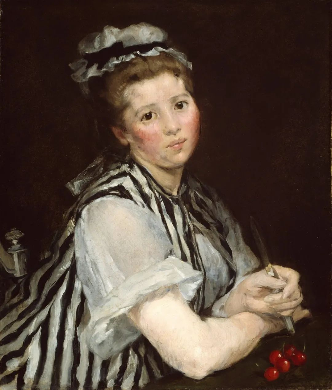 伊娃·冈萨雷斯,19世纪法国印象派女画家插图39