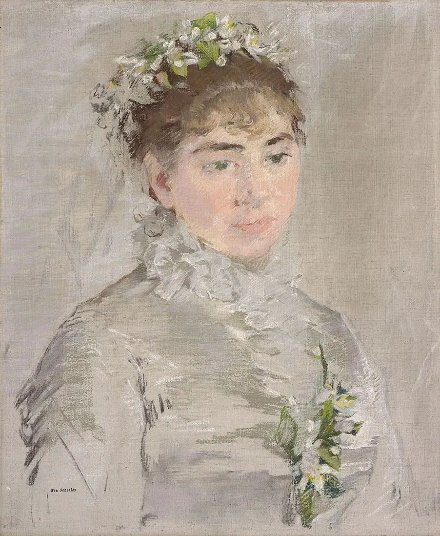 伊娃·冈萨雷斯,19世纪法国印象派女画家插图45