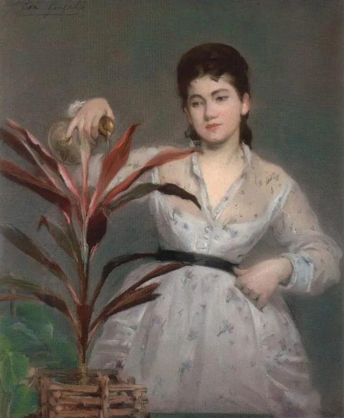 伊娃·冈萨雷斯,19世纪法国印象派女画家插图51