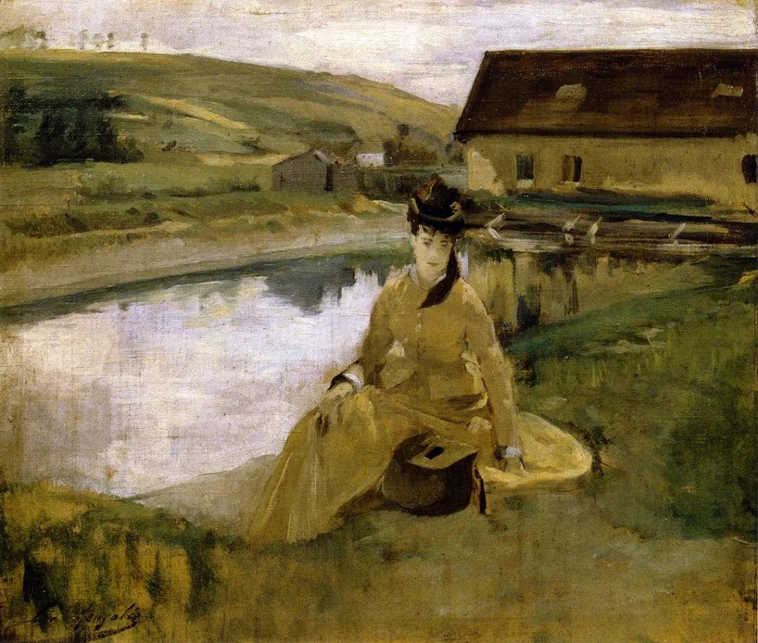 伊娃·冈萨雷斯,19世纪法国印象派女画家插图53