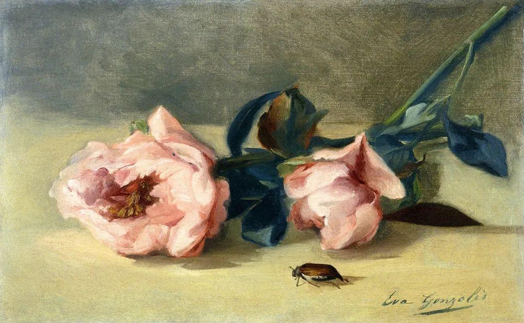 伊娃·冈萨雷斯,19世纪法国印象派女画家插图55