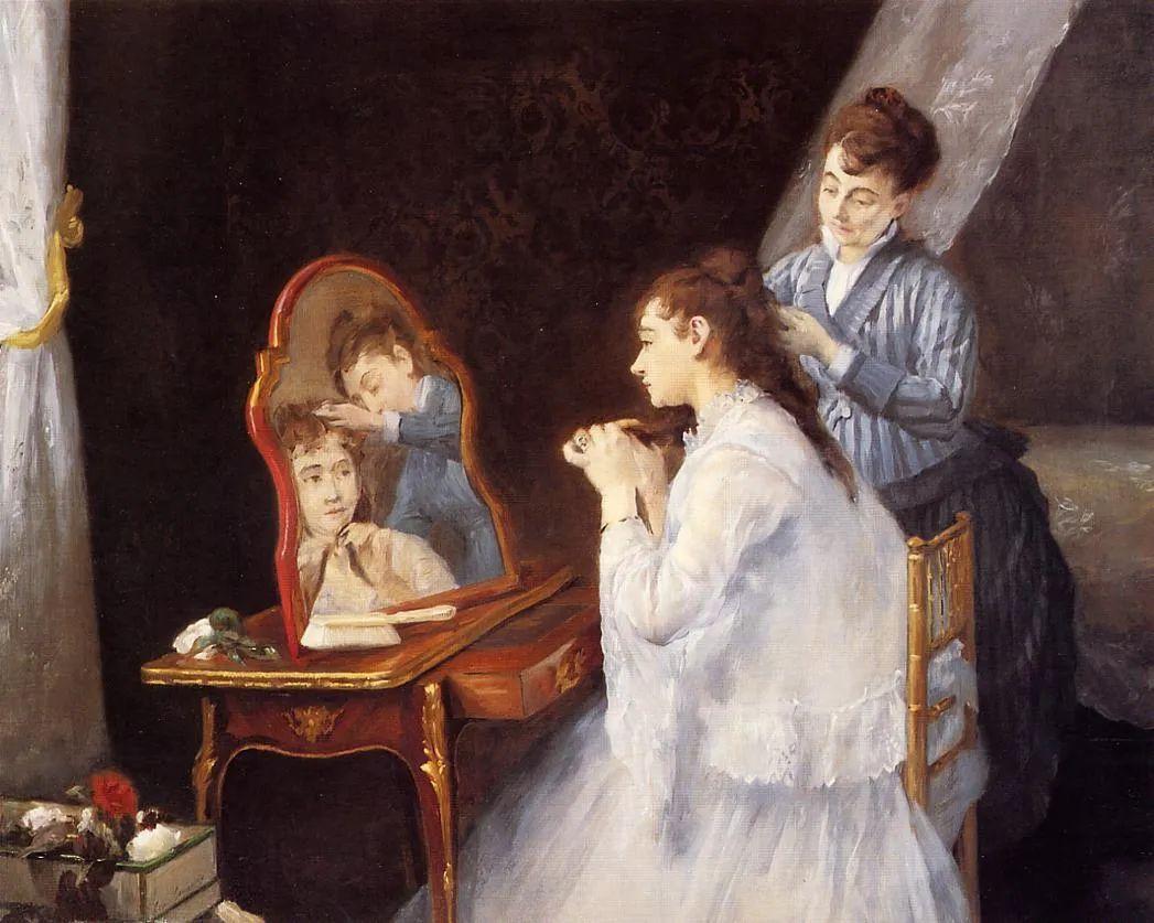伊娃·冈萨雷斯,19世纪法国印象派女画家插图57