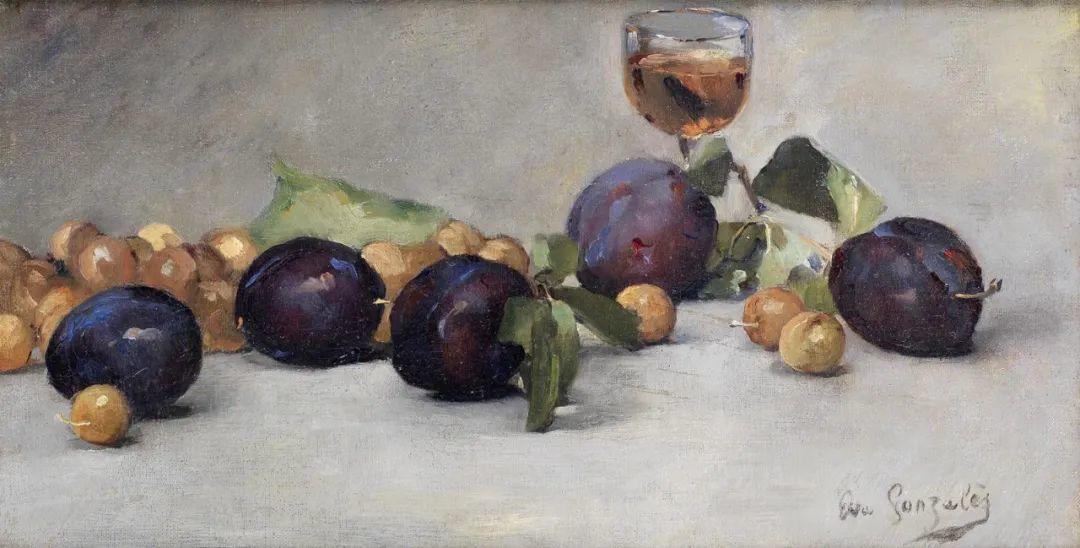 伊娃·冈萨雷斯,19世纪法国印象派女画家插图59