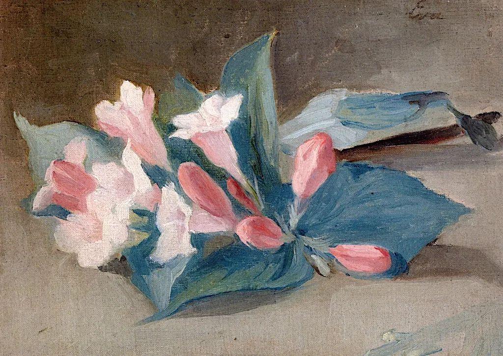 伊娃·冈萨雷斯,19世纪法国印象派女画家插图61