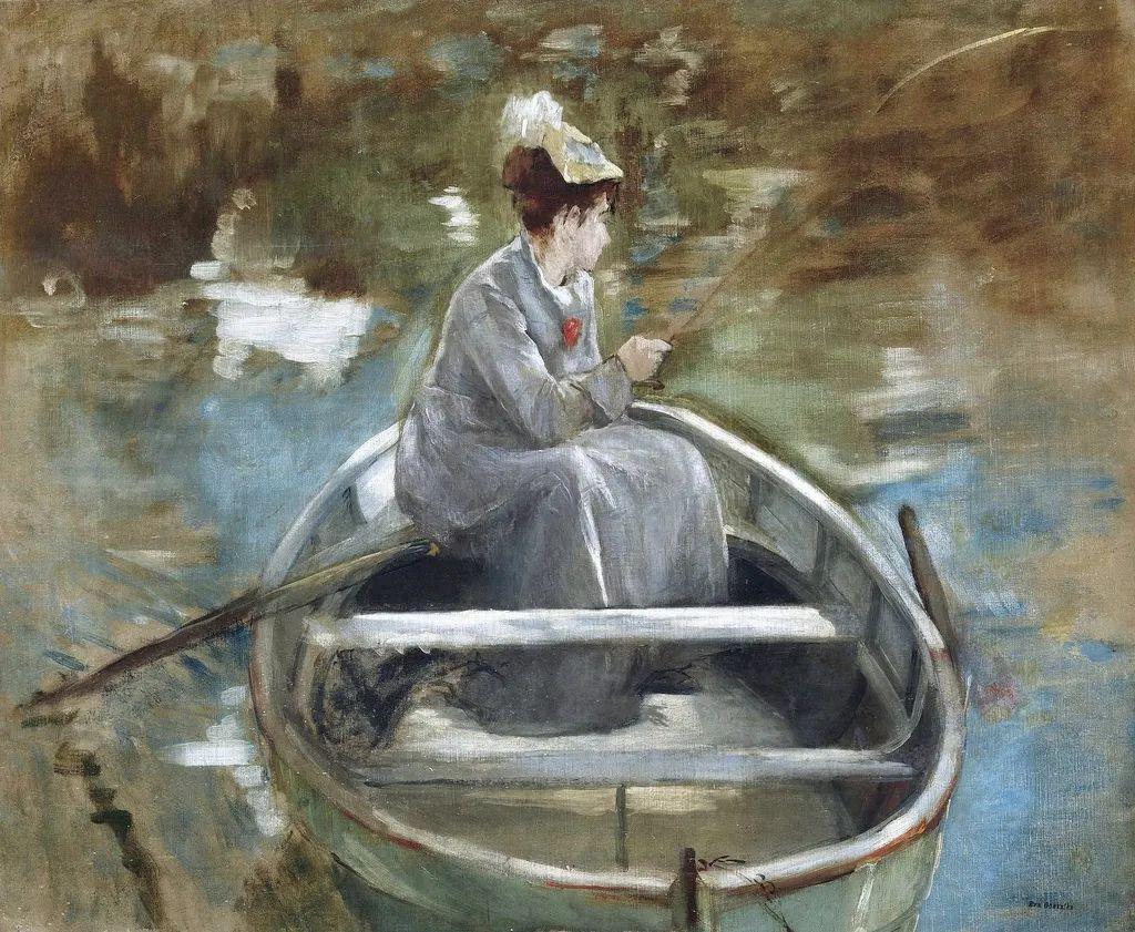 伊娃·冈萨雷斯,19世纪法国印象派女画家插图63