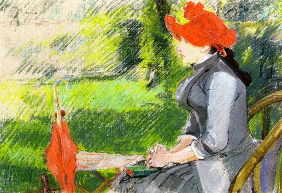 伊娃·冈萨雷斯,19世纪法国印象派女画家插图67