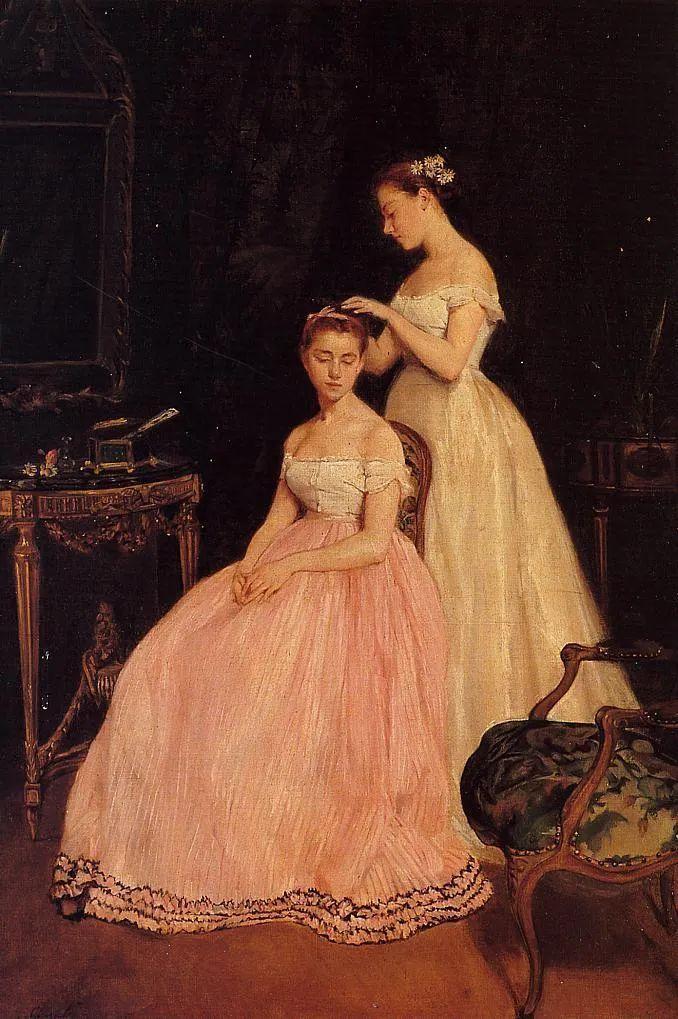 伊娃·冈萨雷斯,19世纪法国印象派女画家插图77