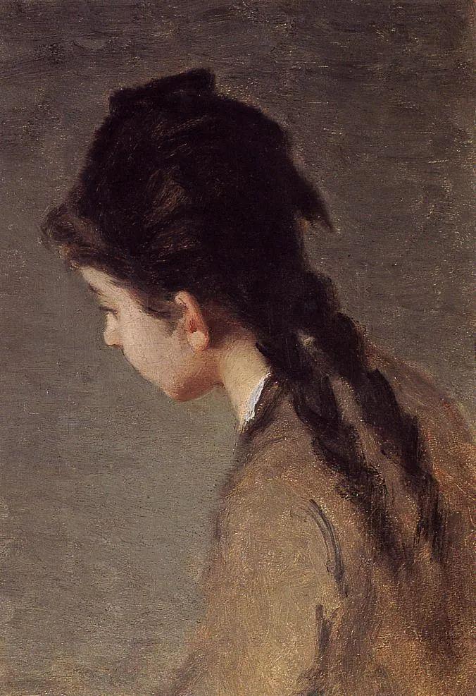 伊娃·冈萨雷斯,19世纪法国印象派女画家插图79
