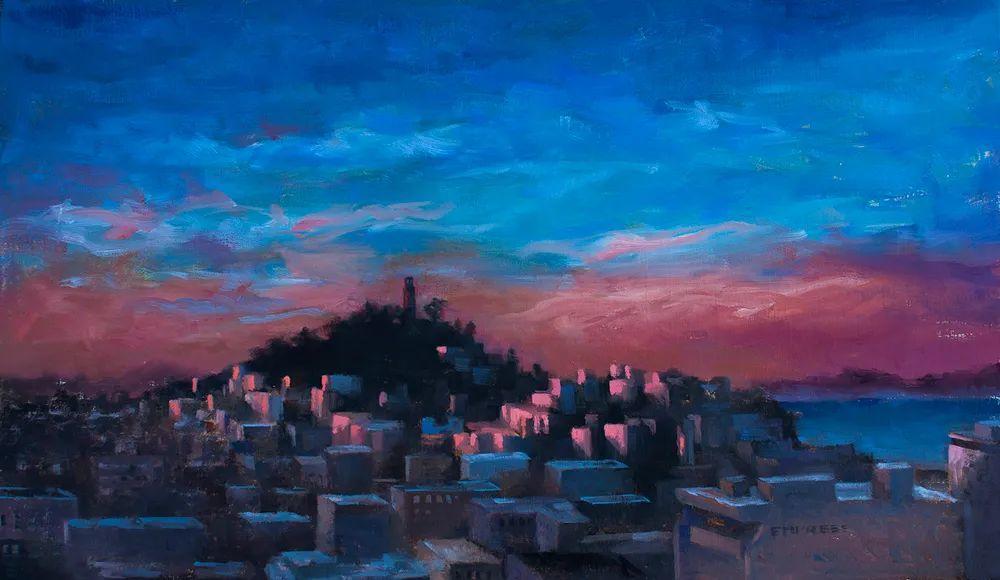风景与静物,韩国画家Doohong Min插图21