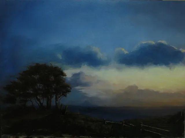 风景与静物,韩国画家Doohong Min插图37