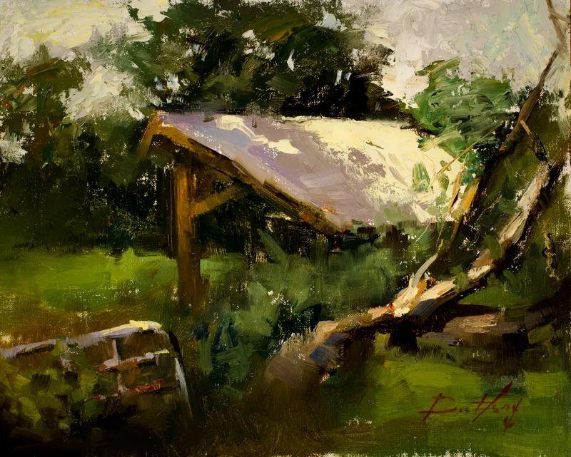 风景与静物,韩国画家Doohong Min插图41
