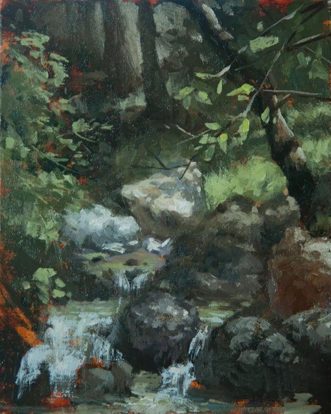 风景与静物,韩国画家Doohong Min插图53