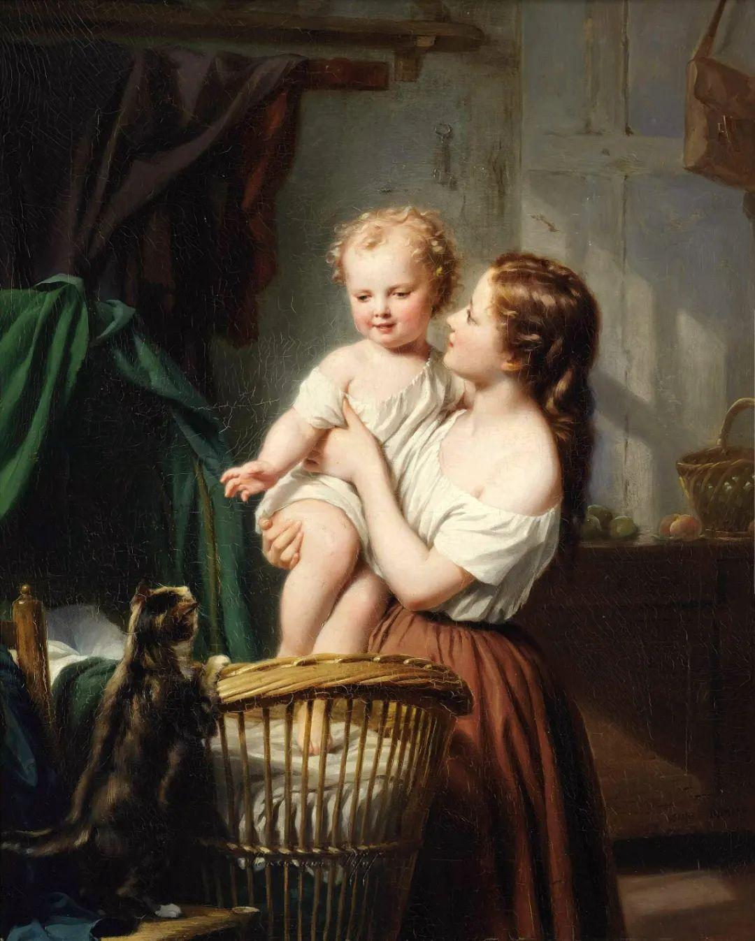 母亲节:世界名画中最伟大、最温情的爱!插图3