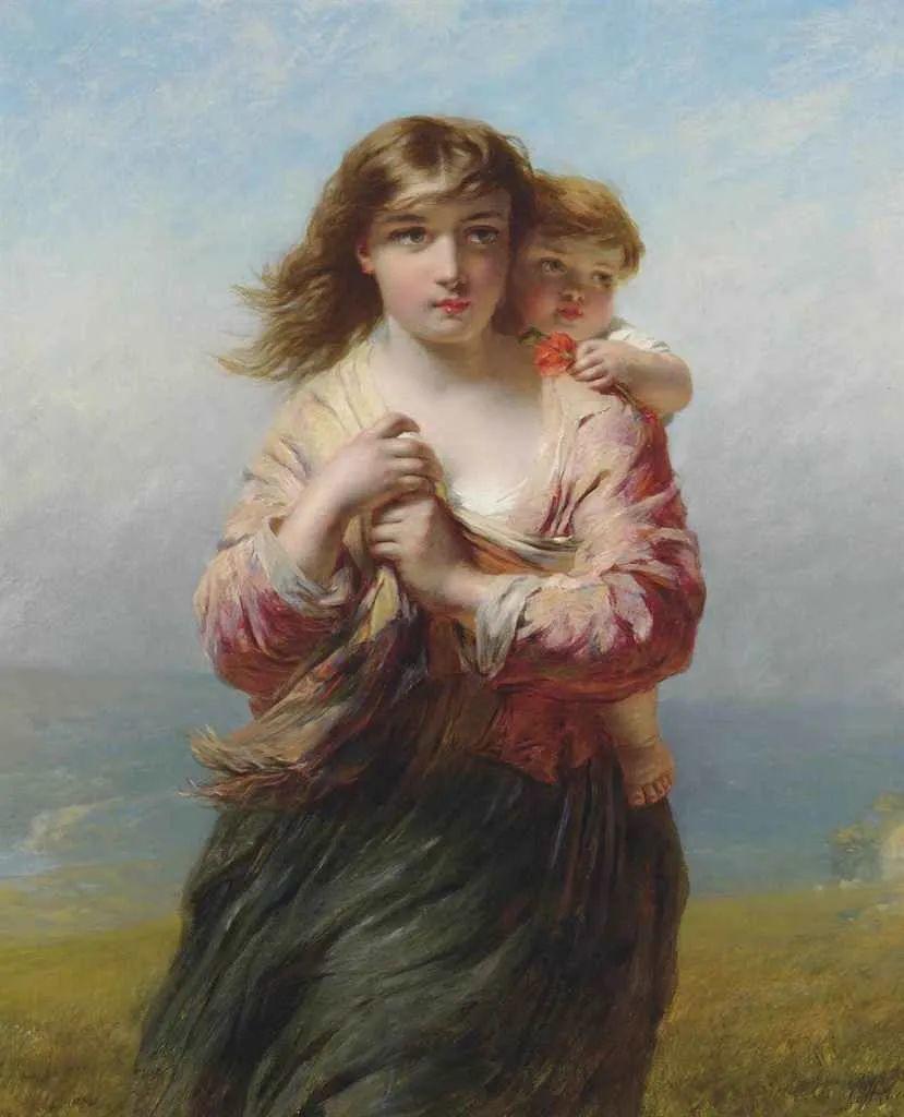 母亲节:世界名画中最伟大、最温情的爱!插图7