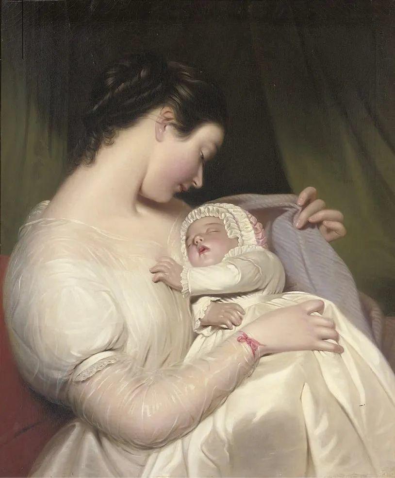 母亲节:世界名画中最伟大、最温情的爱!插图9