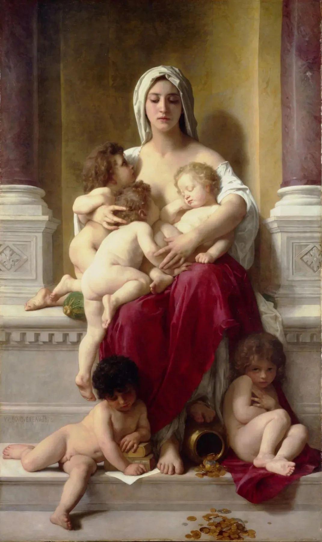 母亲节:世界名画中最伟大、最温情的爱!插图13