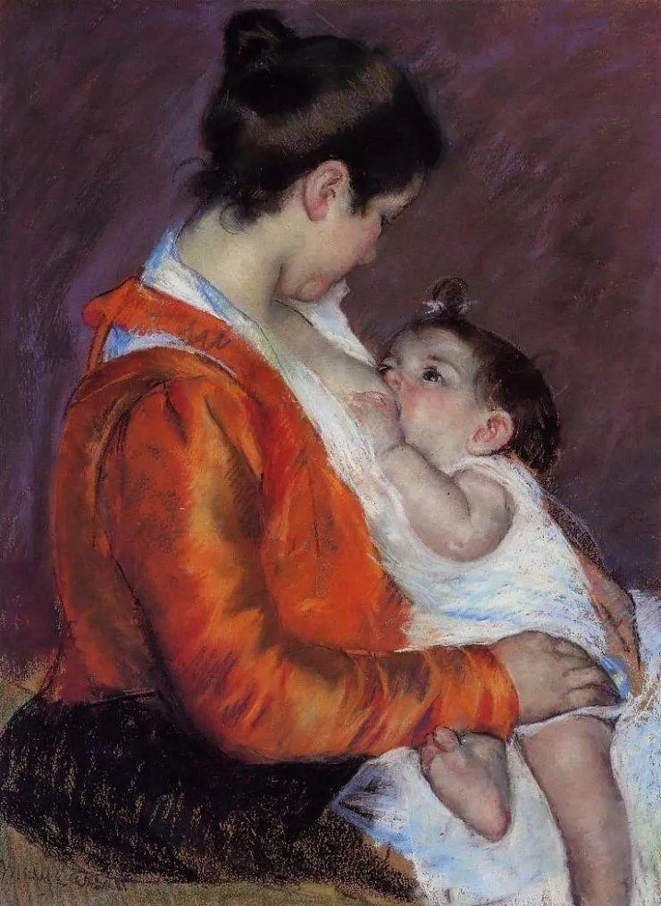 母亲节:世界名画中最伟大、最温情的爱!插图17