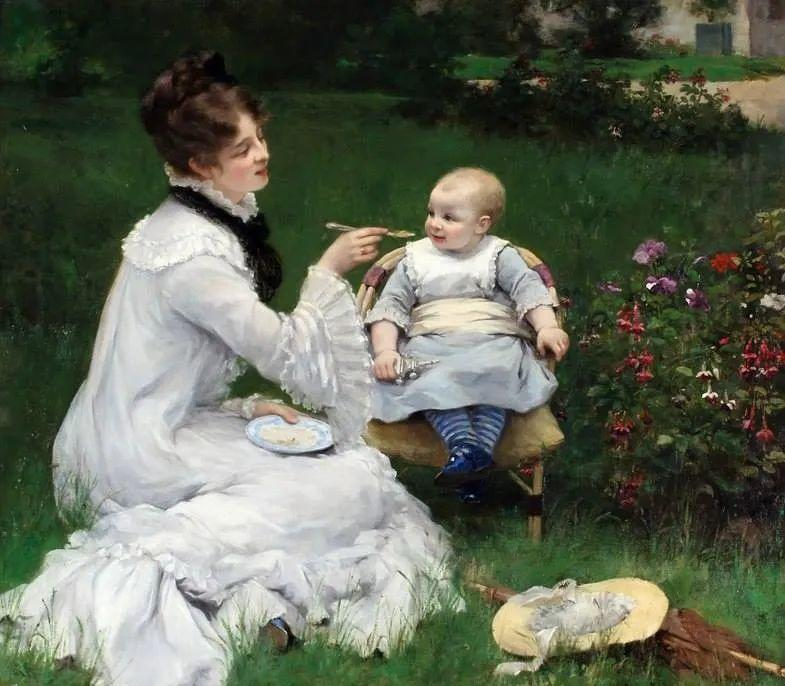 母亲节:世界名画中最伟大、最温情的爱!插图19