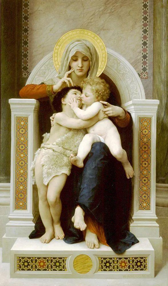 母亲节:世界名画中最伟大、最温情的爱!插图25
