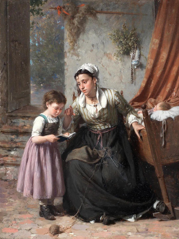 母亲节:世界名画中最伟大、最温情的爱!插图35