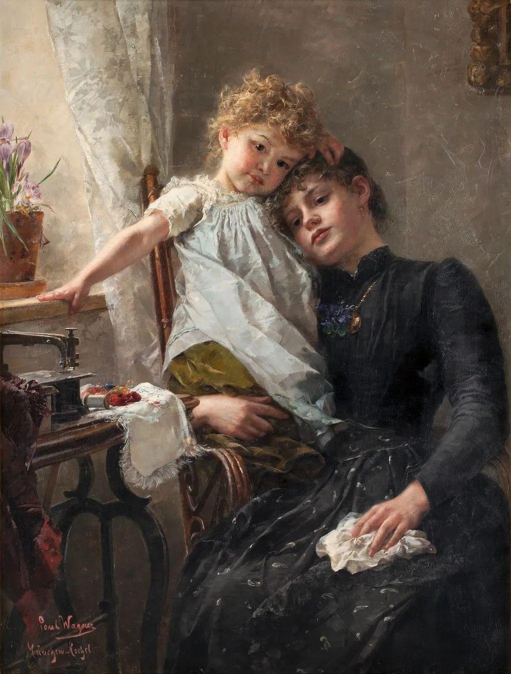 母亲节:世界名画中最伟大、最温情的爱!插图37