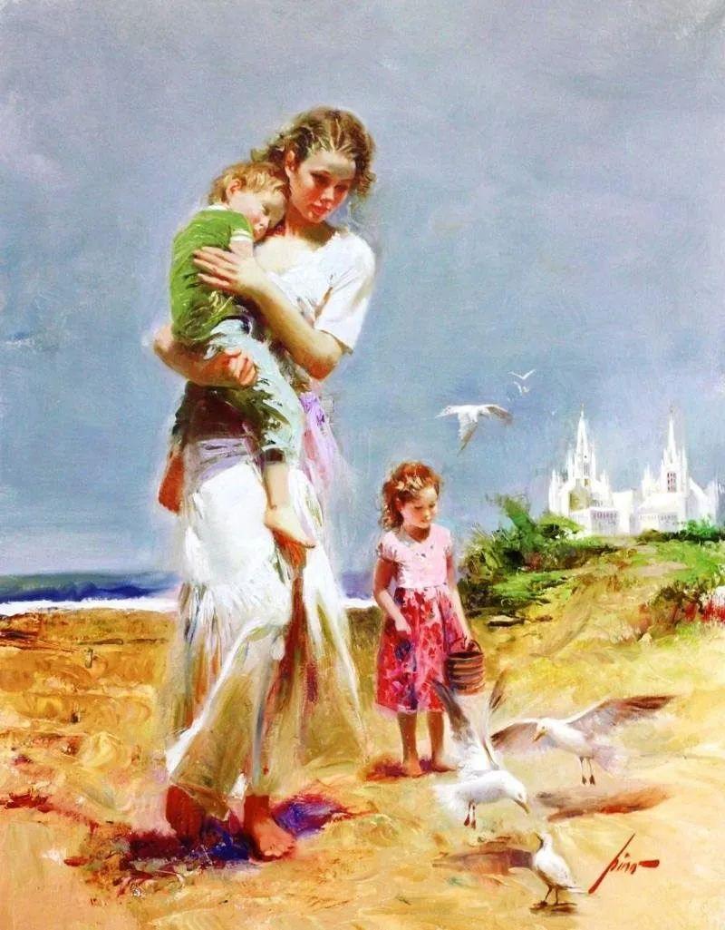 母亲节:世界名画中最伟大、最温情的爱!插图41