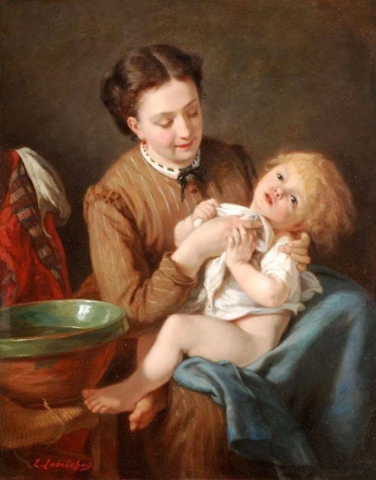 母亲节:世界名画中最伟大、最温情的爱!插图43