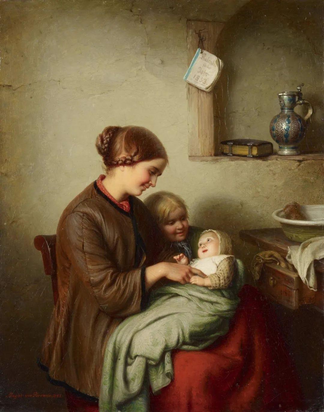 母亲节:世界名画中最伟大、最温情的爱!插图45