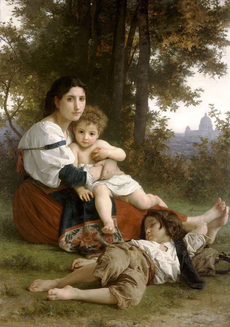 母亲节:世界名画中最伟大、最温情的爱!插图51