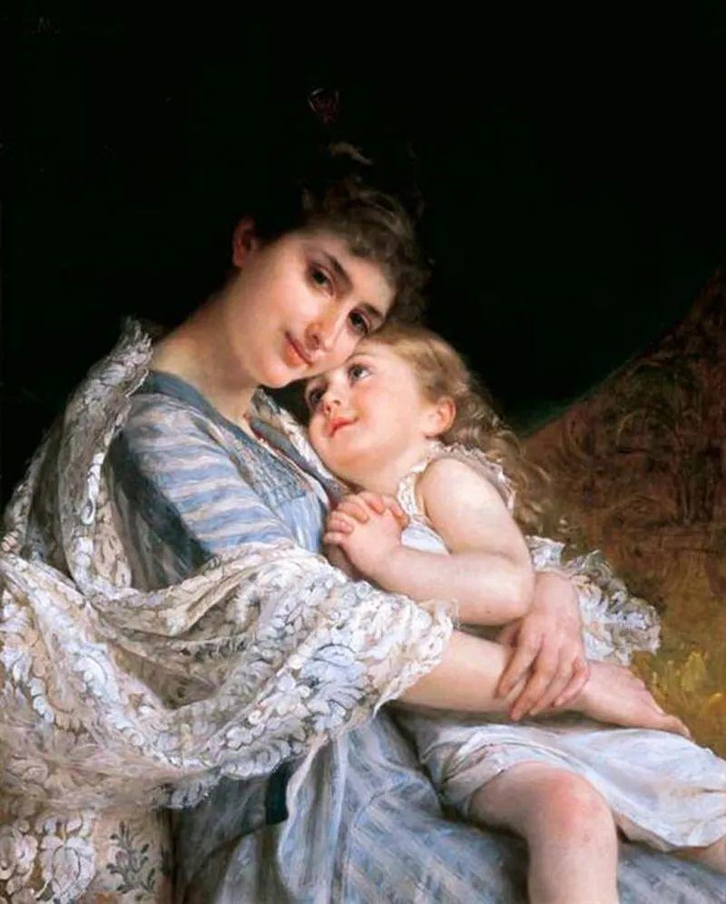 母亲节:世界名画中最伟大、最温情的爱!插图53