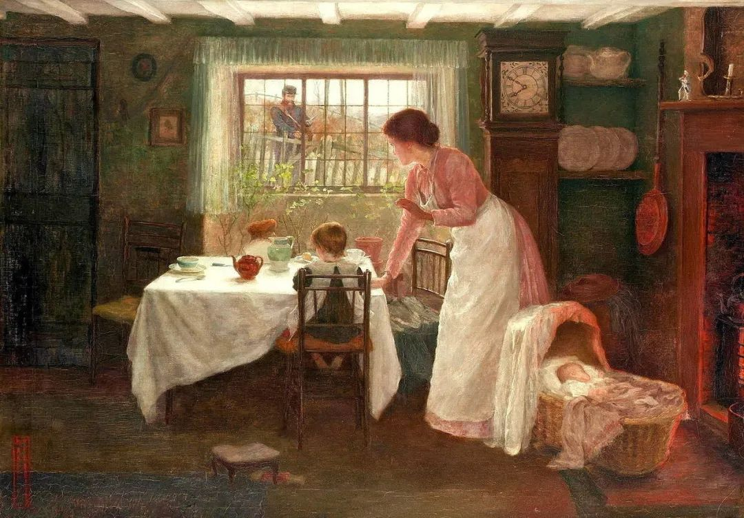 母亲节:世界名画中最伟大、最温情的爱!插图57