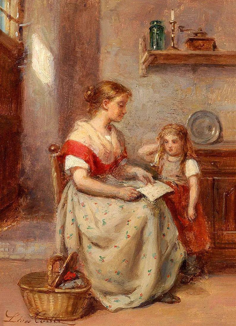 母亲节:世界名画中最伟大、最温情的爱!插图65
