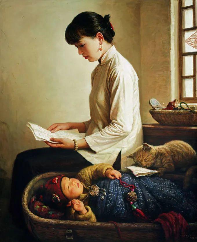 母亲节:世界名画中最伟大、最温情的爱!插图75