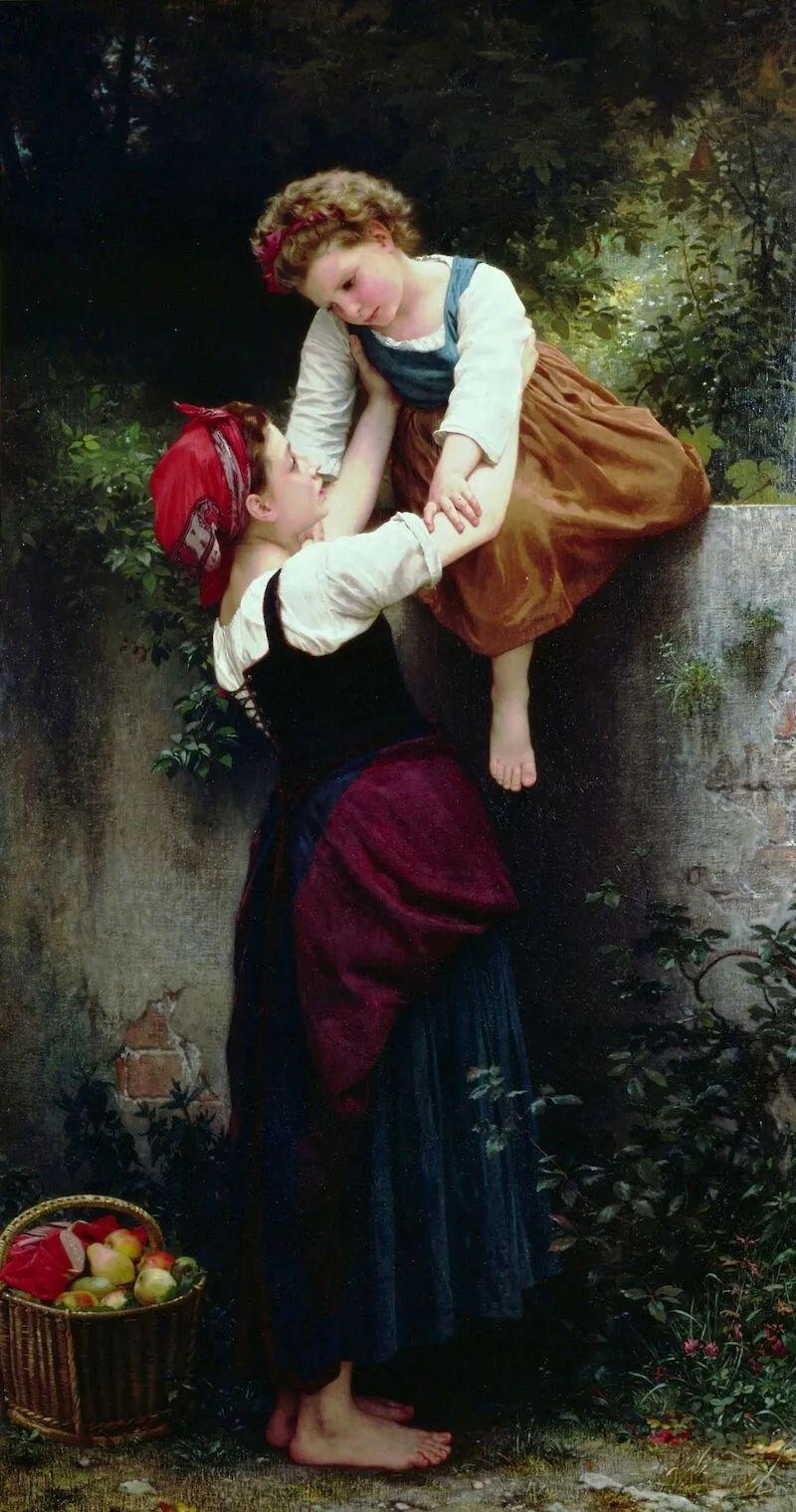 母亲节:世界名画中最伟大、最温情的爱!插图79