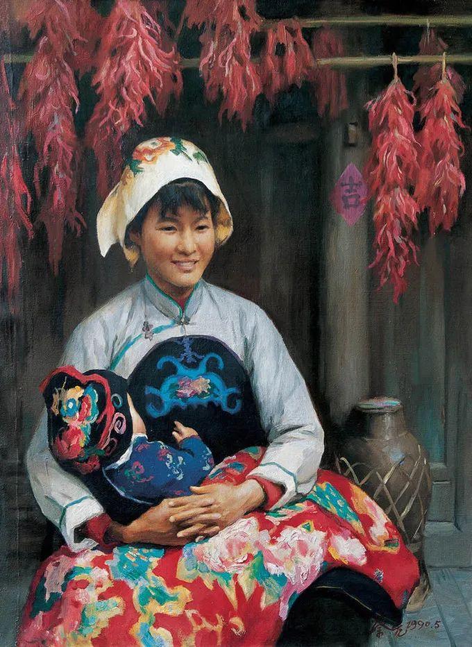 母亲节:世界名画中最伟大、最温情的爱!插图81